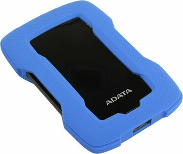 ADATA AHD330-1TU31-CBL Durable HD330 Blue USB3.1 Portable 2.5