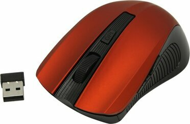 SVEN Wireless Optical Mouse RX-345 Wireless Red RTL  USB  6btn+Roll